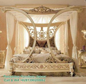 Tempat Tidur Mewah Kanopi