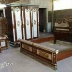 Set Kamar Pengantin Kayu Jati
