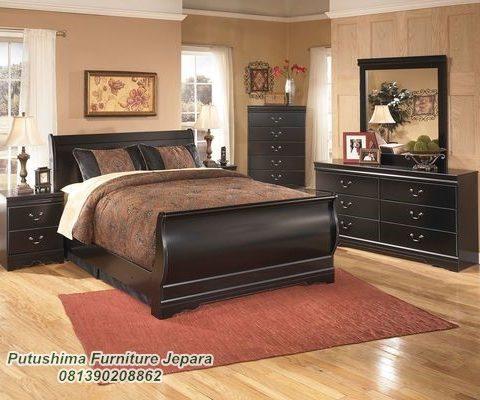Jual Set Tempat Tidur Jati Minimalis Pengantin