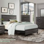Set Tempat Tidur Minimalis Model Rustic