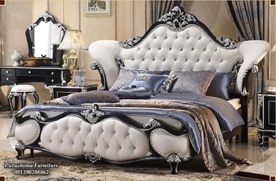 Harga Tempat Tidur Jati Mewah Ukiran