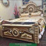Tempat Tidur Ukir Arjuna Gong