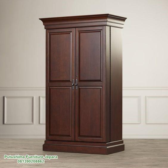 Jual Lemari Pakaian Minimalis 2 Pintu
