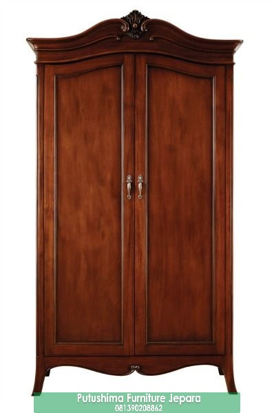Jual Lemari Pakaian 2 Pintu Jati Kuno